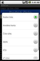 Screenshot of EskaCek