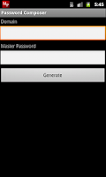 Screenshot of Password Composer Lite