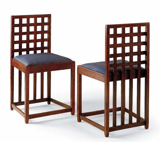 Two chairs for the Blue bedroom, Hous\'hill, Nitshill ...