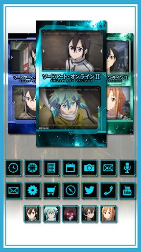 きせかえアプリ 「ソードアート・オンラインⅡ」
