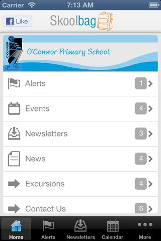 O'Connor Primary School- screenshot