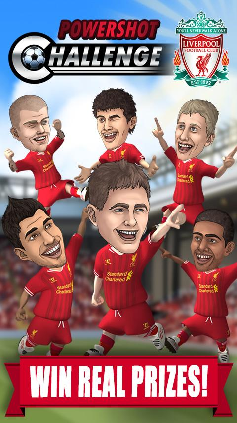 Liverpool FC Powershot Chall. - screenshot
