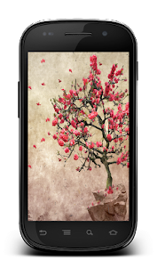Galaxy S4 Leaf Lonely Tree LWP - screenshot thumbnail
