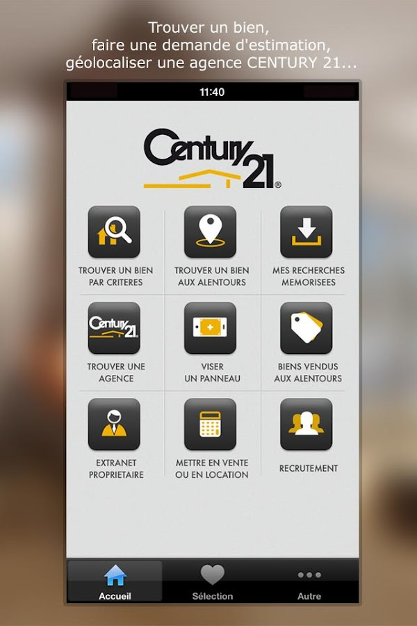 Century 21 immobilier applications android sur google play - Century 21 aguere ...