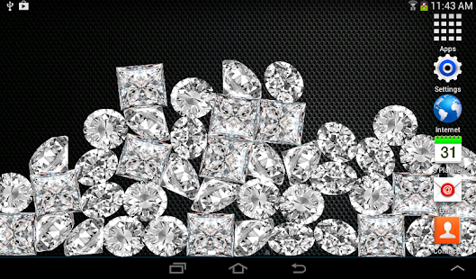 Diamonds Live Wallpaper