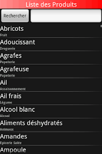 Mes Courses screenshot 3