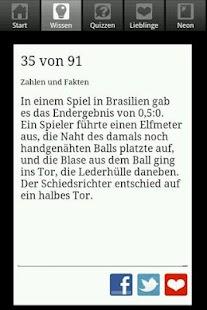 NEON Unnützes Fußballwissen - screenshot thumbnail