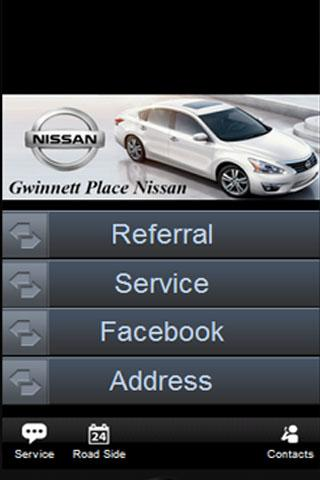 Gwinnett Place Nissan - screenshot