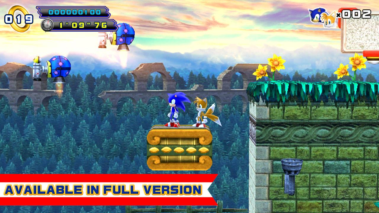 Sonic the hedgehog 4 for android free download sonic the.