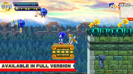 Game Sonic 4 Episode II LITE APK for Windows Phone