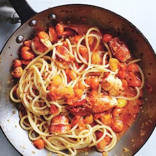 Spicy Lobster Pasta.