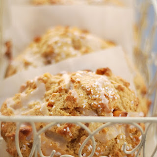 Butterscotch Biscoff Coffeehouse Scones Recipe