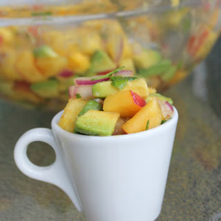 Guest Post by Megan Peterson – Mango Pineapple Salsa