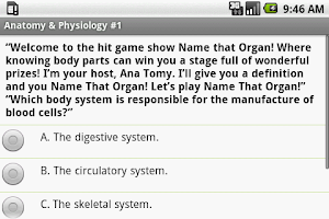 Screenshot of Phlebotomy Tech Exam Prep