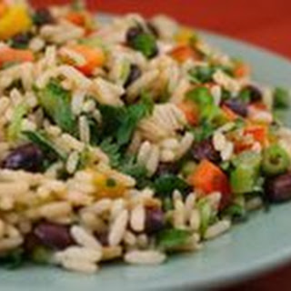 Black Bean, Rice, and Cilantro Salad