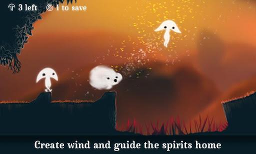 """حصريا : لعبة الارواح الرائعة: """"Spirits"""" اخر اصدار 37.36MB"""