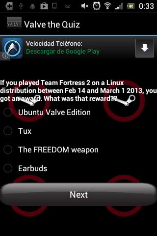 Valve Games Quiz
