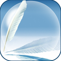 Galaxy note 2 feather game LWP icon