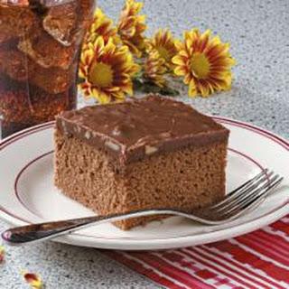 Cocoa Cola Cake.