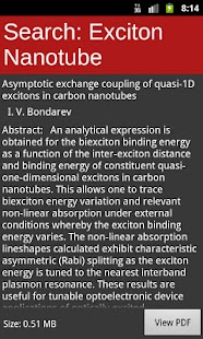 arXiv mobile - screenshot thumbnail