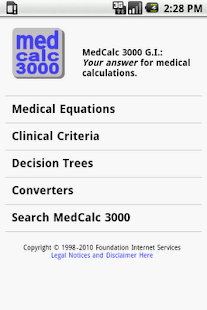 MedCalc 3000 G.I. - screenshot thumbnail