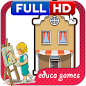 COLORING HOME GAME icon