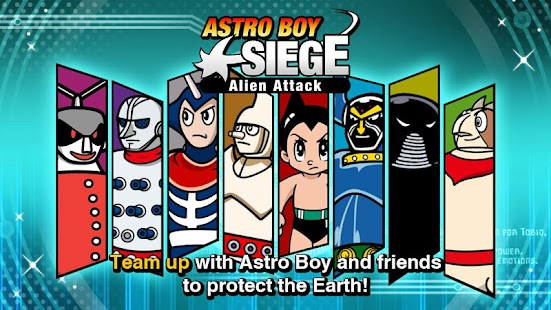 Astro Boy Siege: Alien Attack- screenshot thumbnail