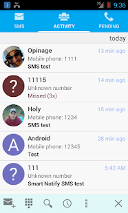 Smart Notify - SMS and calls- screenshot thumbnail