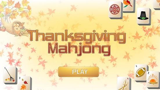 Thanksgiving Mahjong- screenshot thumbnail