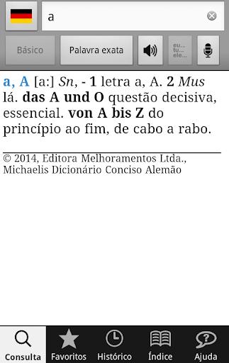 Michaelis Conciso Alemão