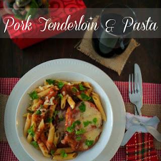 Pork Tenderloin & Pasta with Winter Sauce