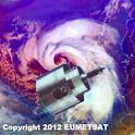 Weather satellite widget logo
