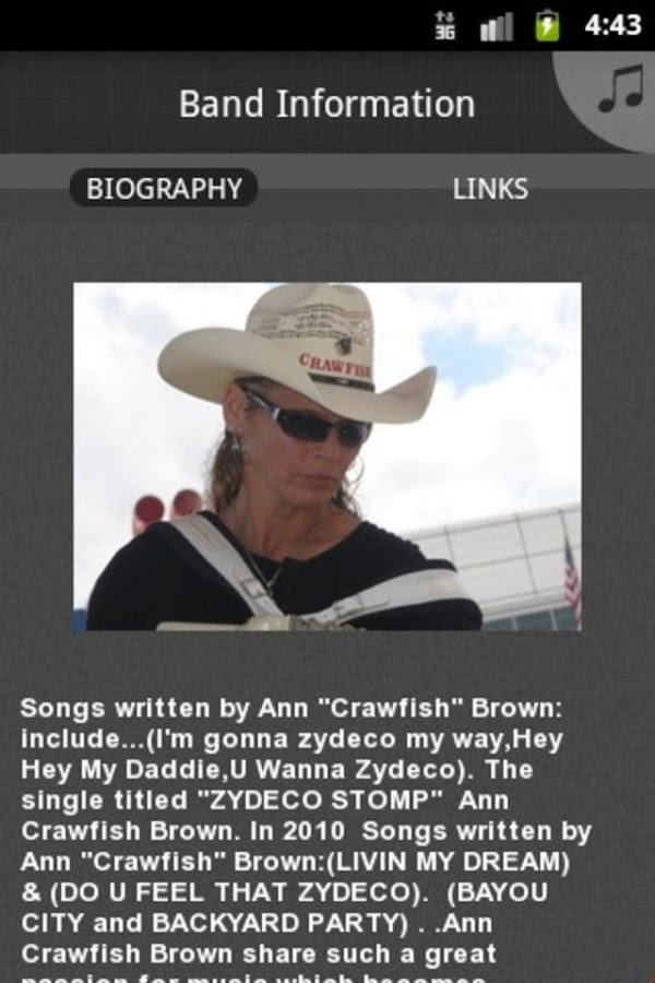 "ANN '""CRAWFISH"" BROWN - screenshot"