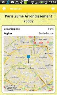 Code Postal - Gratuit- screenshot thumbnail