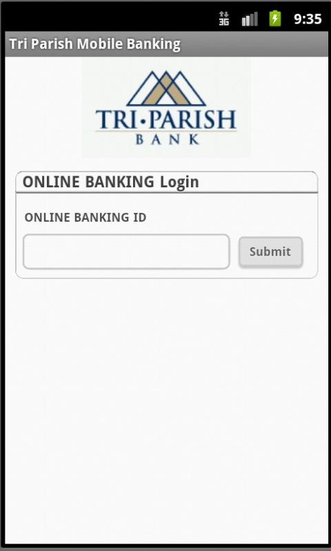 Tri Parish Mobile Banking - screenshot