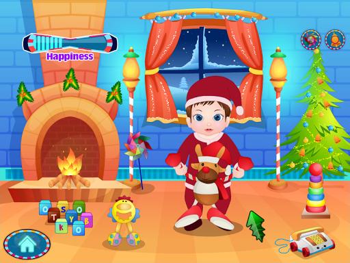 婴儿用品圣诞节游戏
