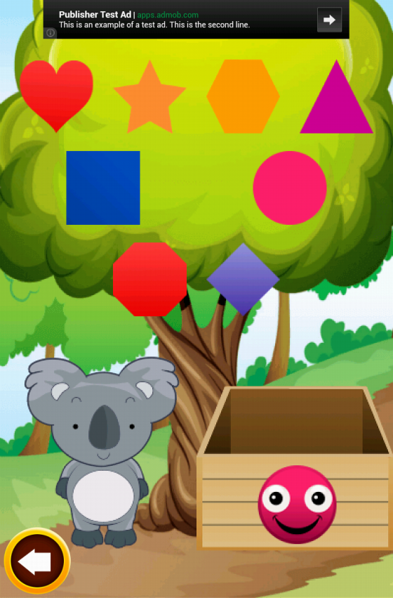 Toddler Learns Shapes Game- screenshot