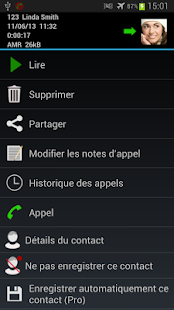 Enregistrement d'appel Pro - screenshot thumbnail