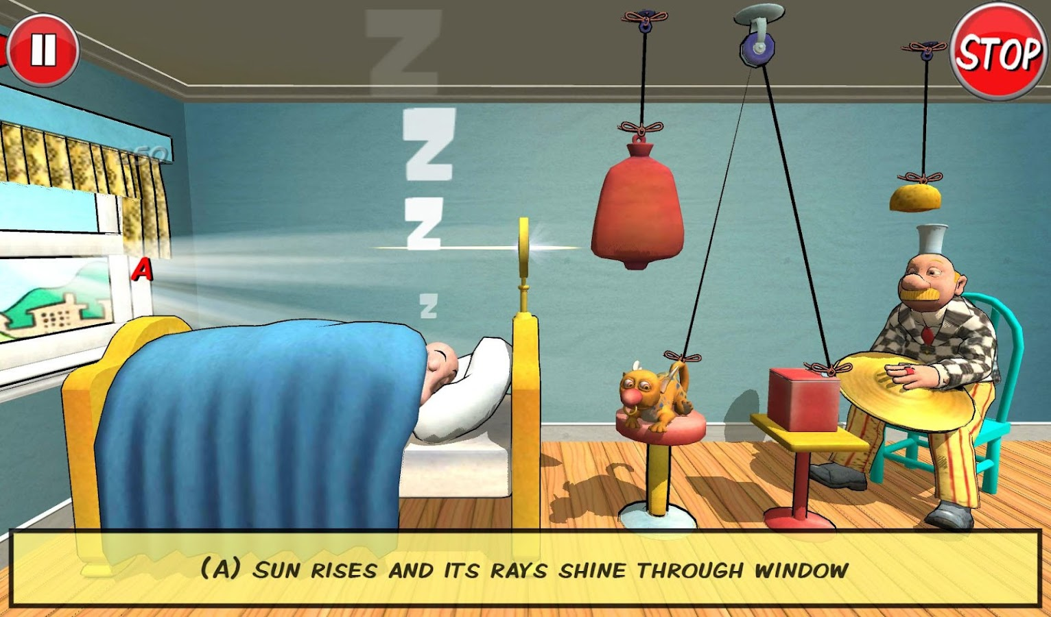 Rube Works: Rube Goldberg Game- screenshot