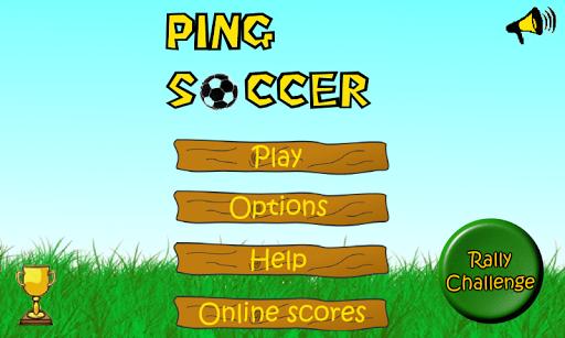 ピンポンサッカー
