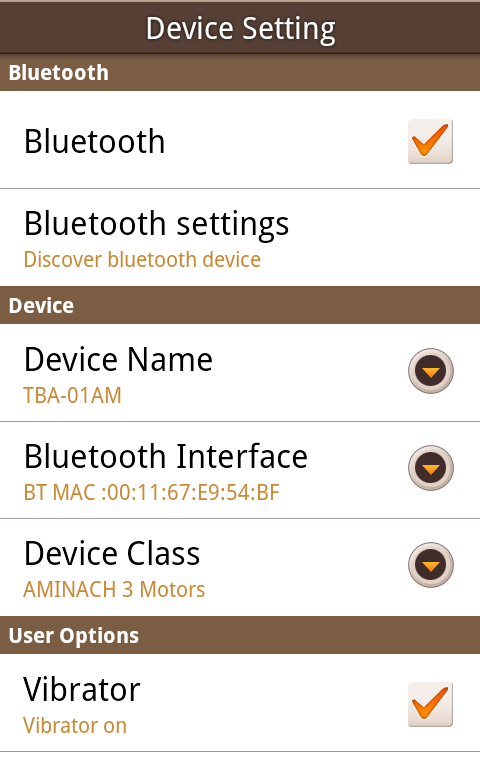 AMINACH Smart Control - screenshot