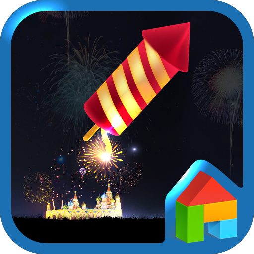 Fire Works Dodol Theme LOGO-APP點子