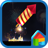 Fire Works Dodol Theme
