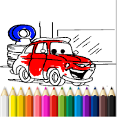 Cars Finger Painting 4 Kids