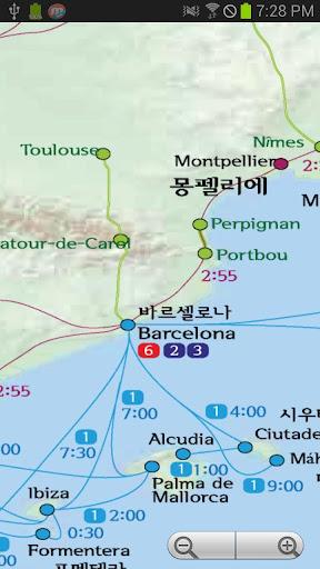 無料旅游Appのユーレイルマップ+ 記事Game