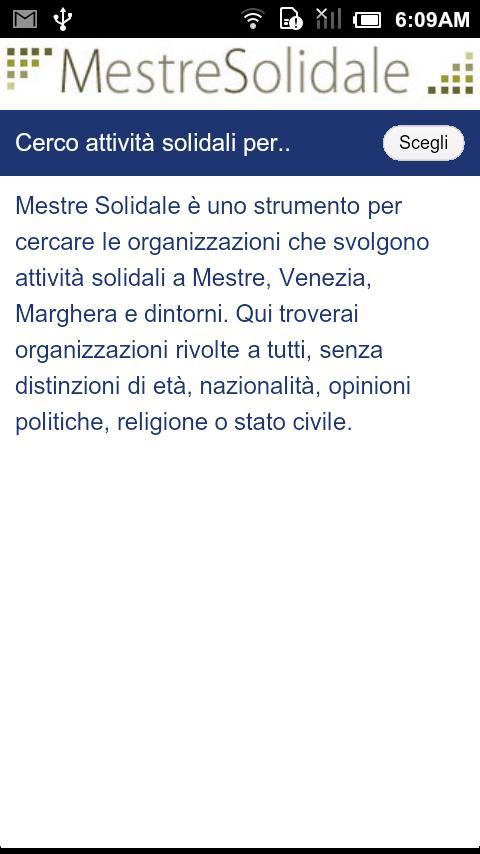 Mestre Solidale- screenshot