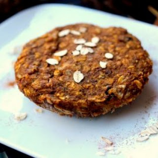 Microwave Pumpkin Oatmeal Cookie for one