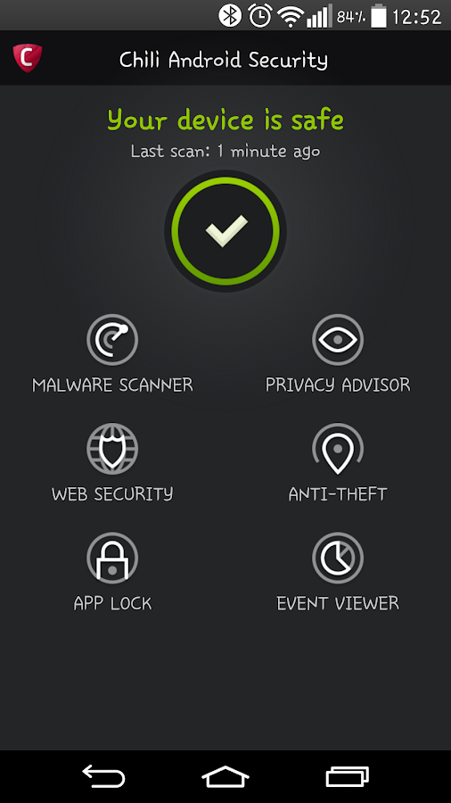 Chili Android Security - Android Apps on Google Play