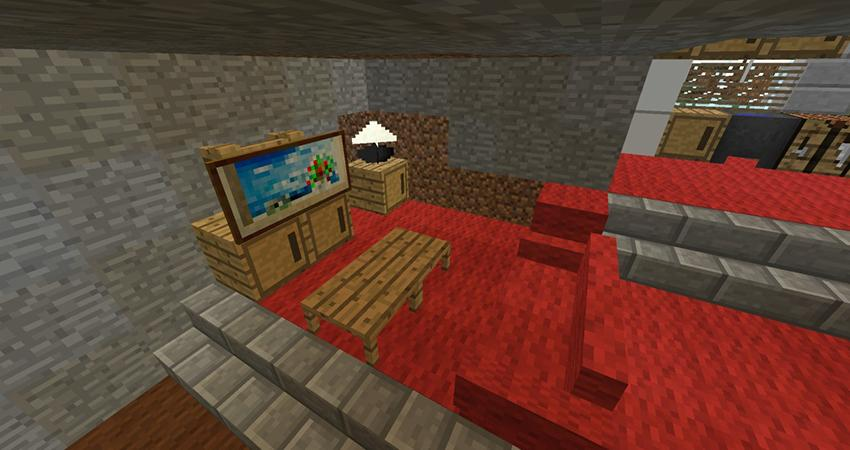 Cool Furniture Ideas Minecraft Screenshot