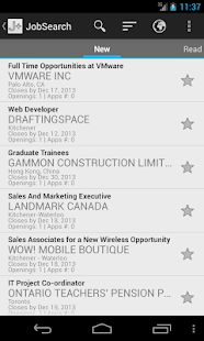 Jobmine Plus Mobile- screenshot thumbnail
